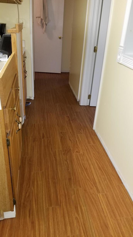 Mohogany Elite Plank Flooring