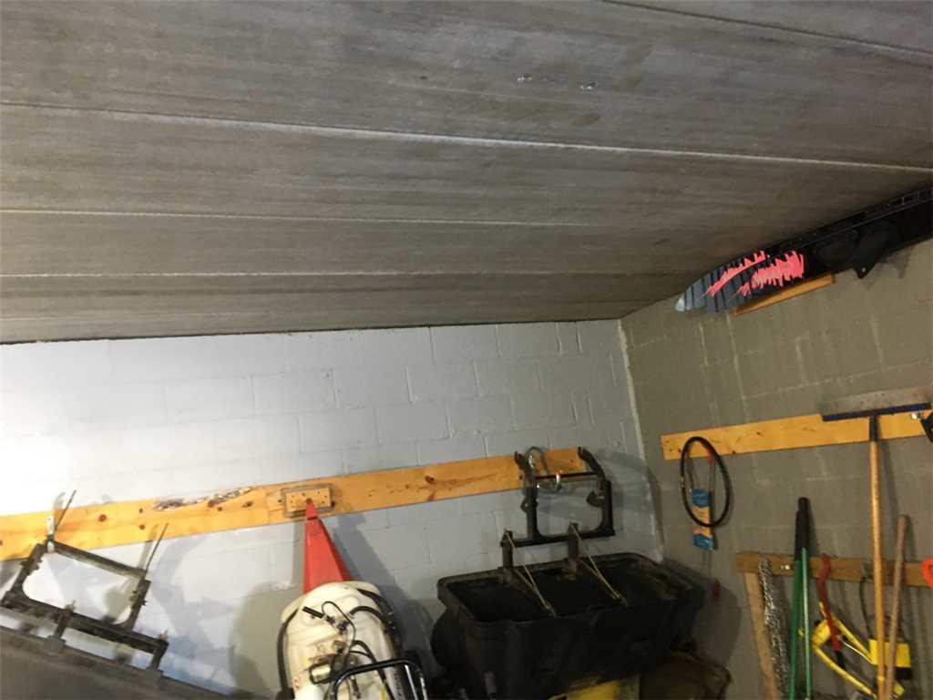 Basment garage storage
