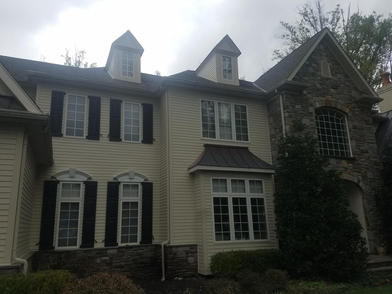 James Hardie Fiber Cement Planks and ProVia Stone Siding Install in Ambler, PA