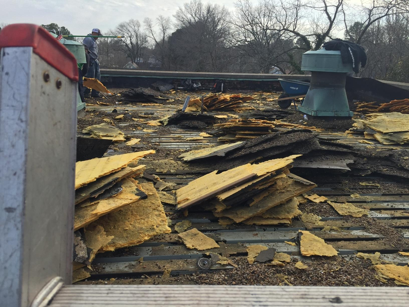 Commercial Roof Removal