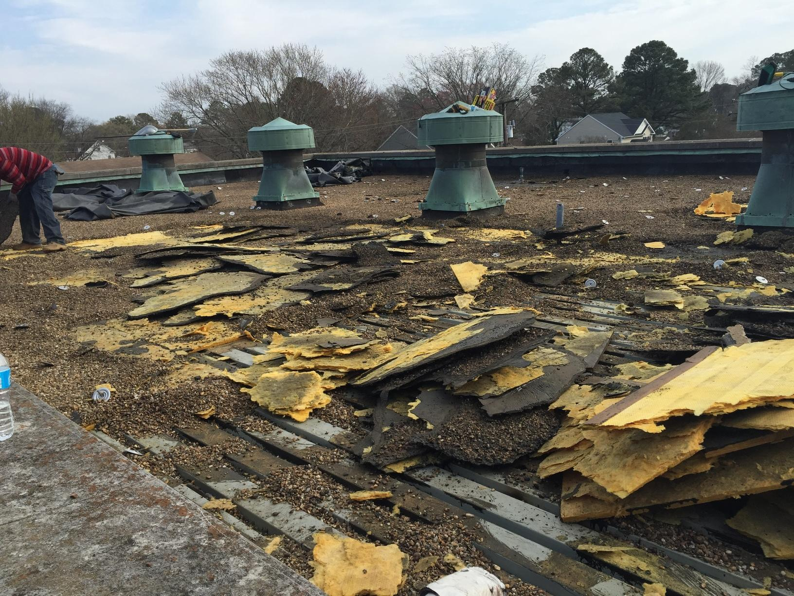 Old Roof Removal