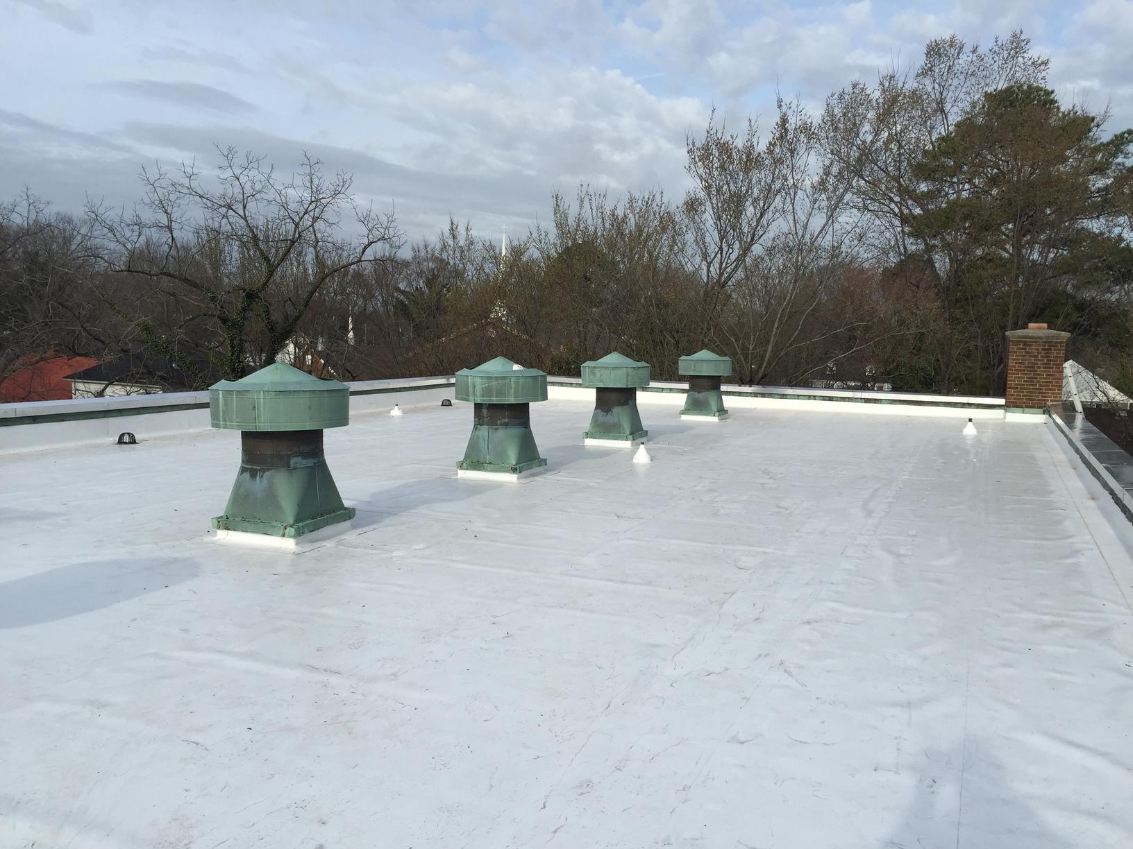 TPO Roof Installation