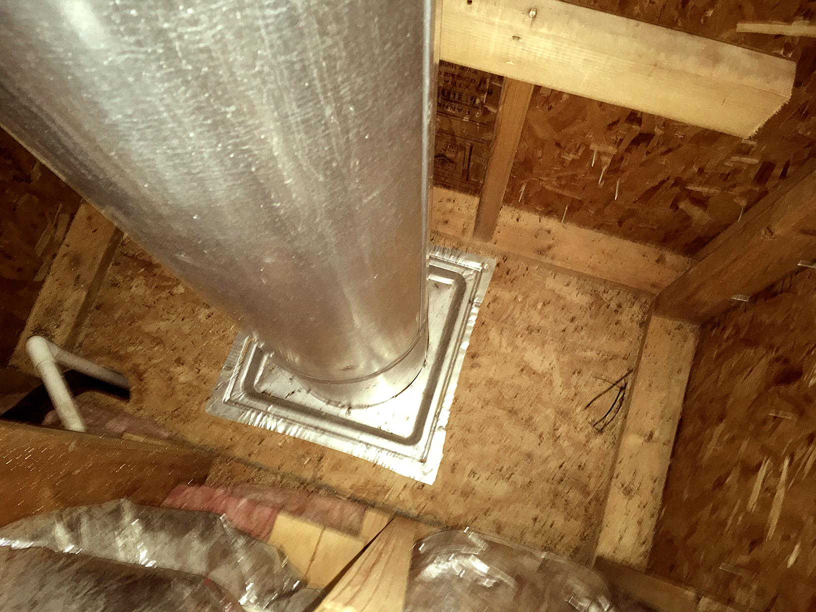 Insulation Services Metal Collar For Chimney In Modena