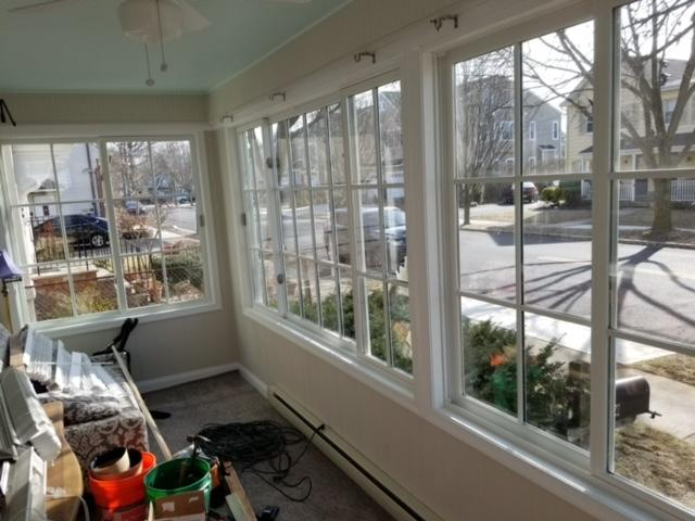 Marvin Infinity Slider Windows with SDLs install in Madison, NJ