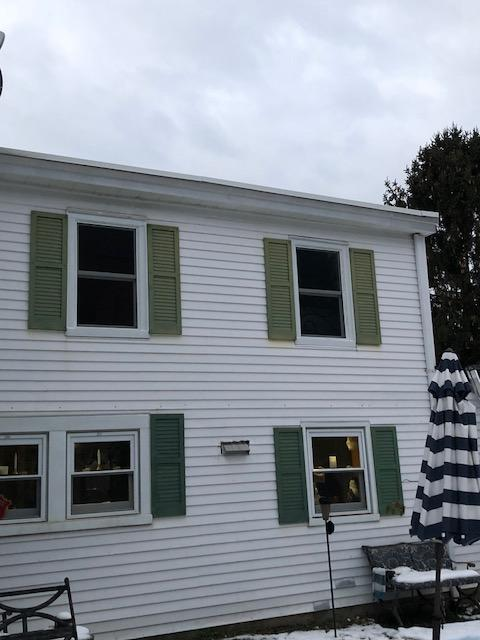 Exterior of Marvin Infinity Window Installation in Perrineville, PA