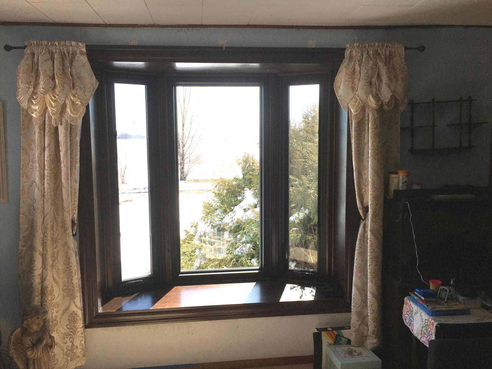 After Bay Window Replacement
