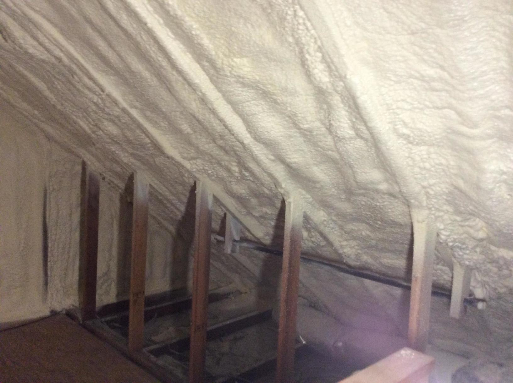 Spray Foam Attic Crawl Space