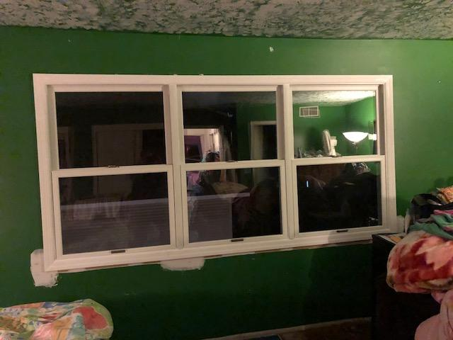 Marvin Infinity Window with White Interior Installation in NJ