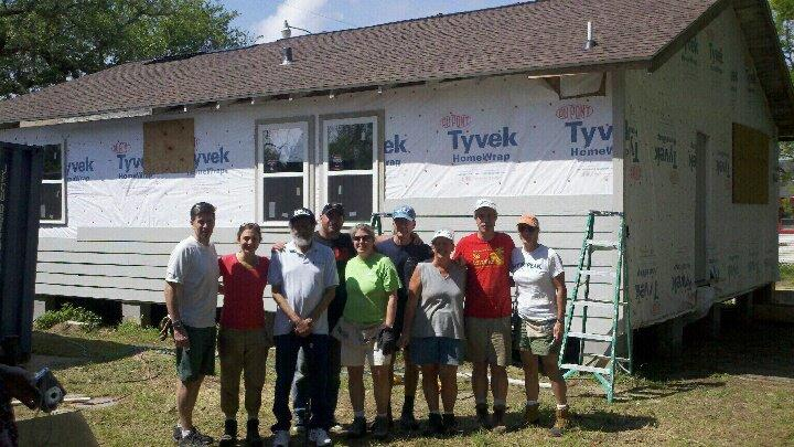 Terry Rooney and the Hope Foundation Volunteers