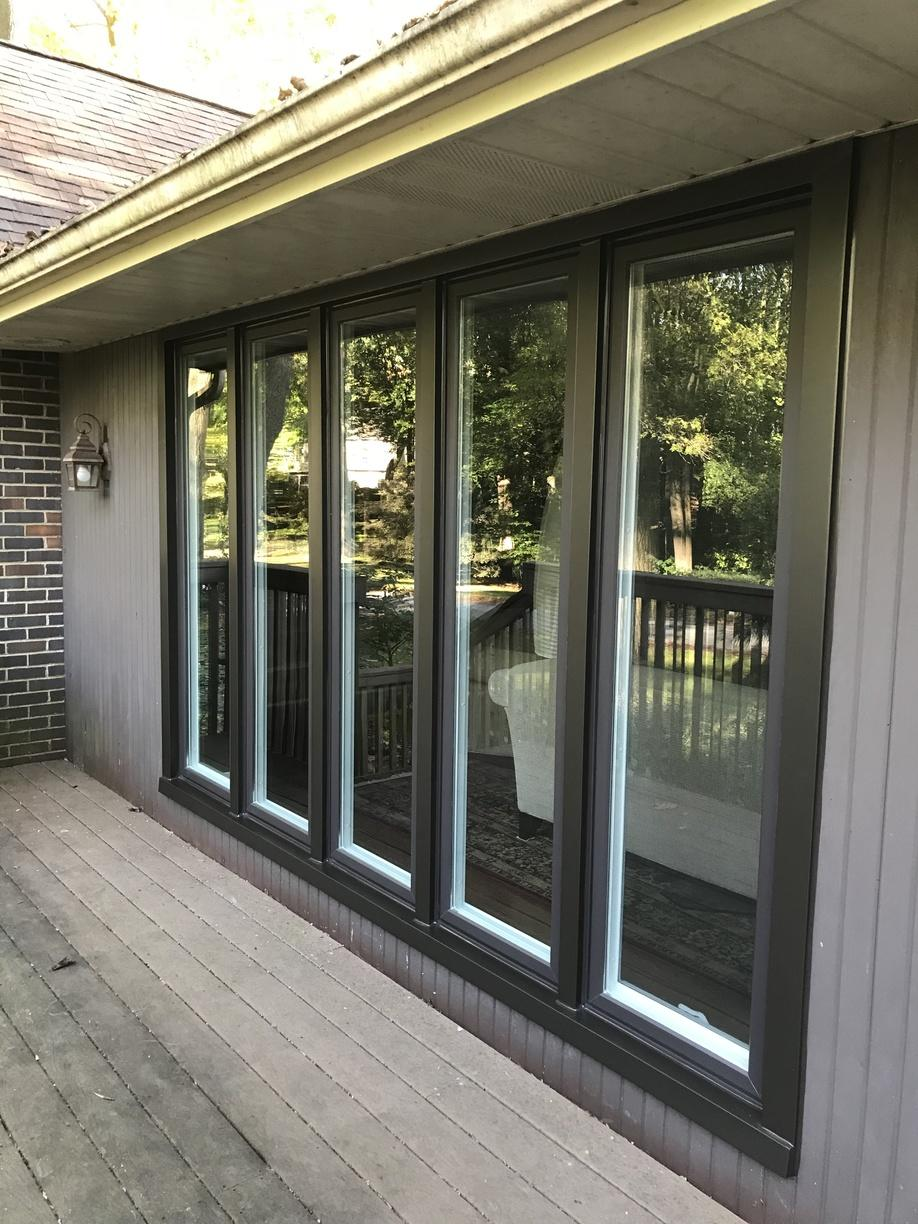 Exterior Photo of Marvin Infinity Casement Window Installation in PA