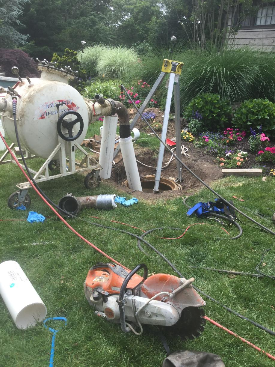 Working On Pipe Lining in Brookside, NJ