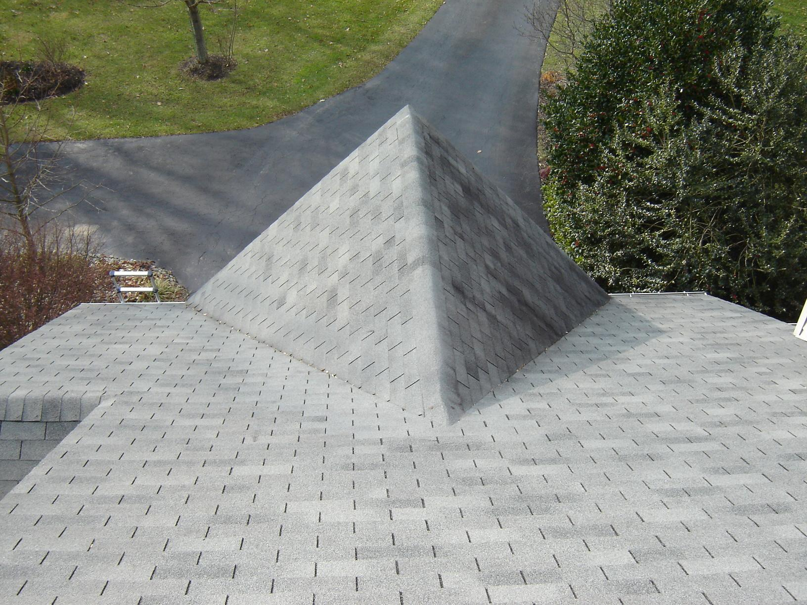 Before Photo of Asphalt Roof Replacement