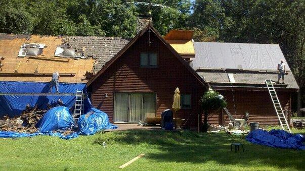 Ripping and Re-installing a Newtown Roof!
