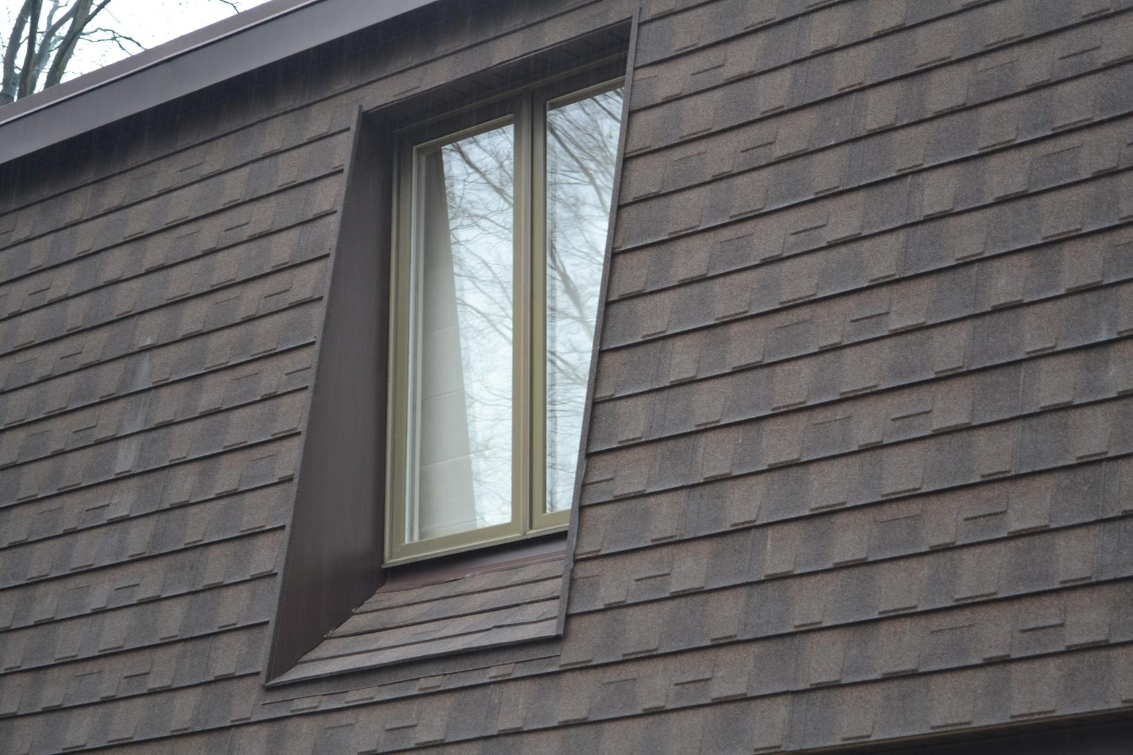 Roof Replacement Desert Sand Metal Shingle Roof