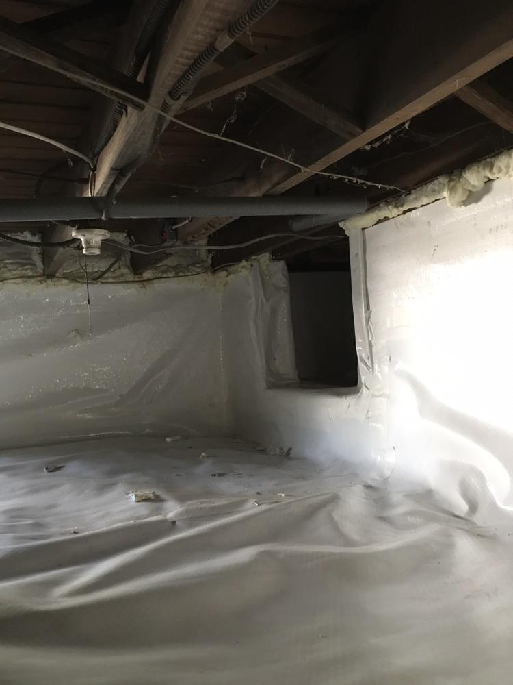 Opening to Second Crawlspace
