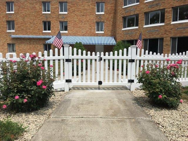 Spaced Picket Gate Installation in CT