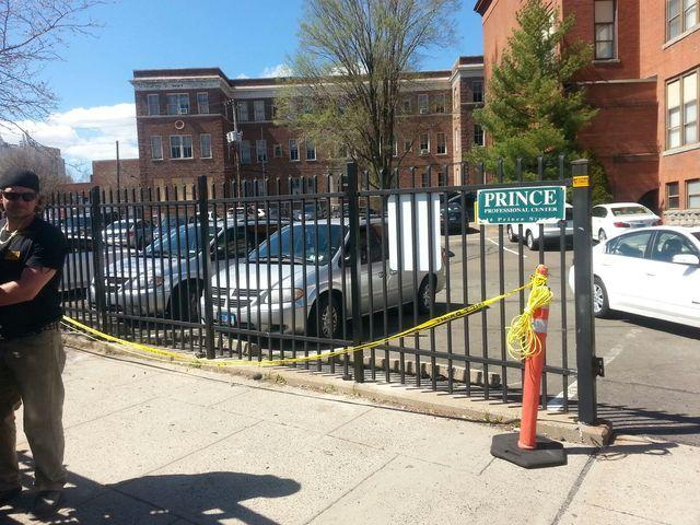 Steel Fence Installed in New Haven