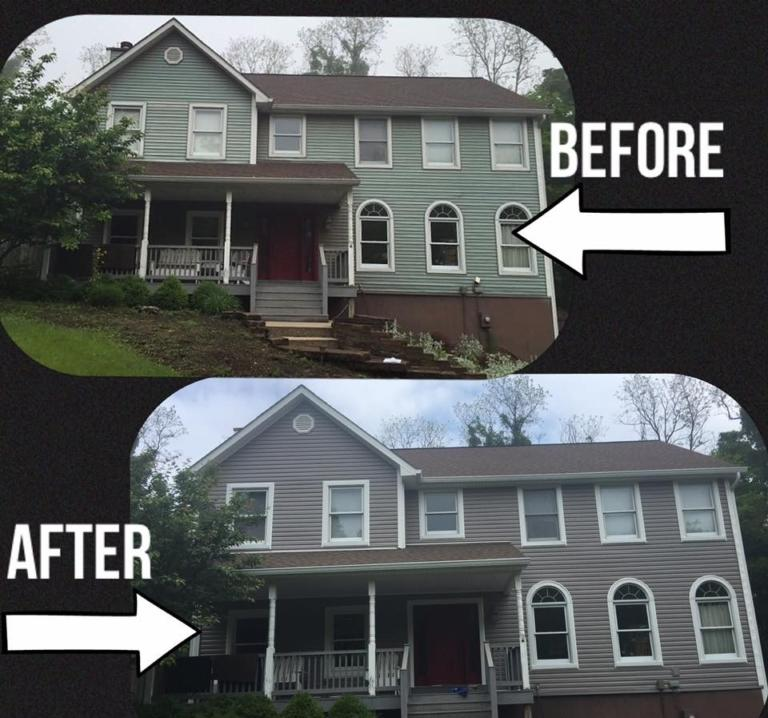 Exterior remodel & roof replacement in City, State Abbreviation