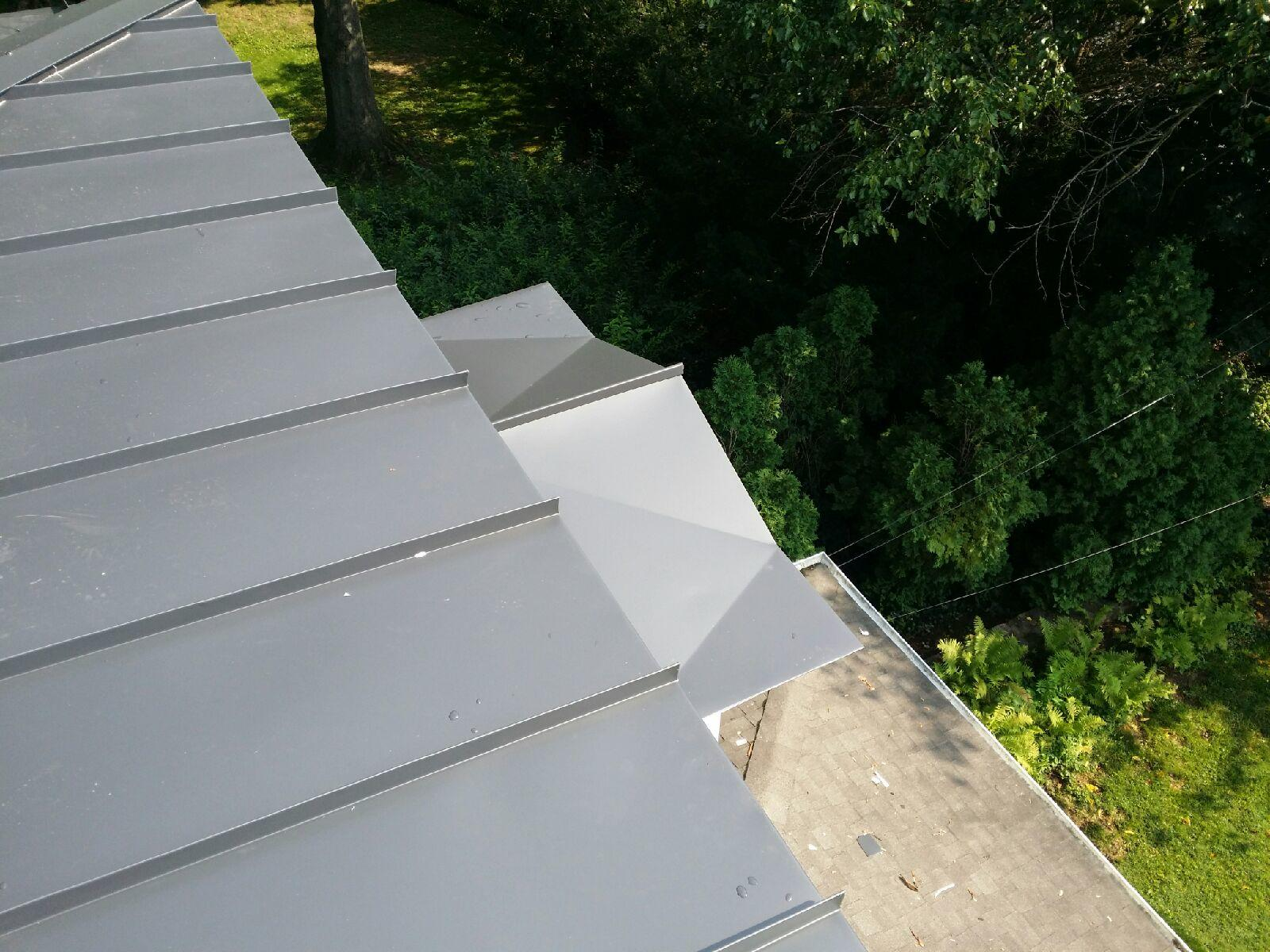 Custom Metal Roof Installation in PA