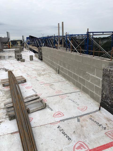 Masonry Work at Commercial Building in Norwalk, CT