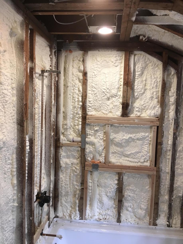 Spray Foam Bath Room in Summit, NJ