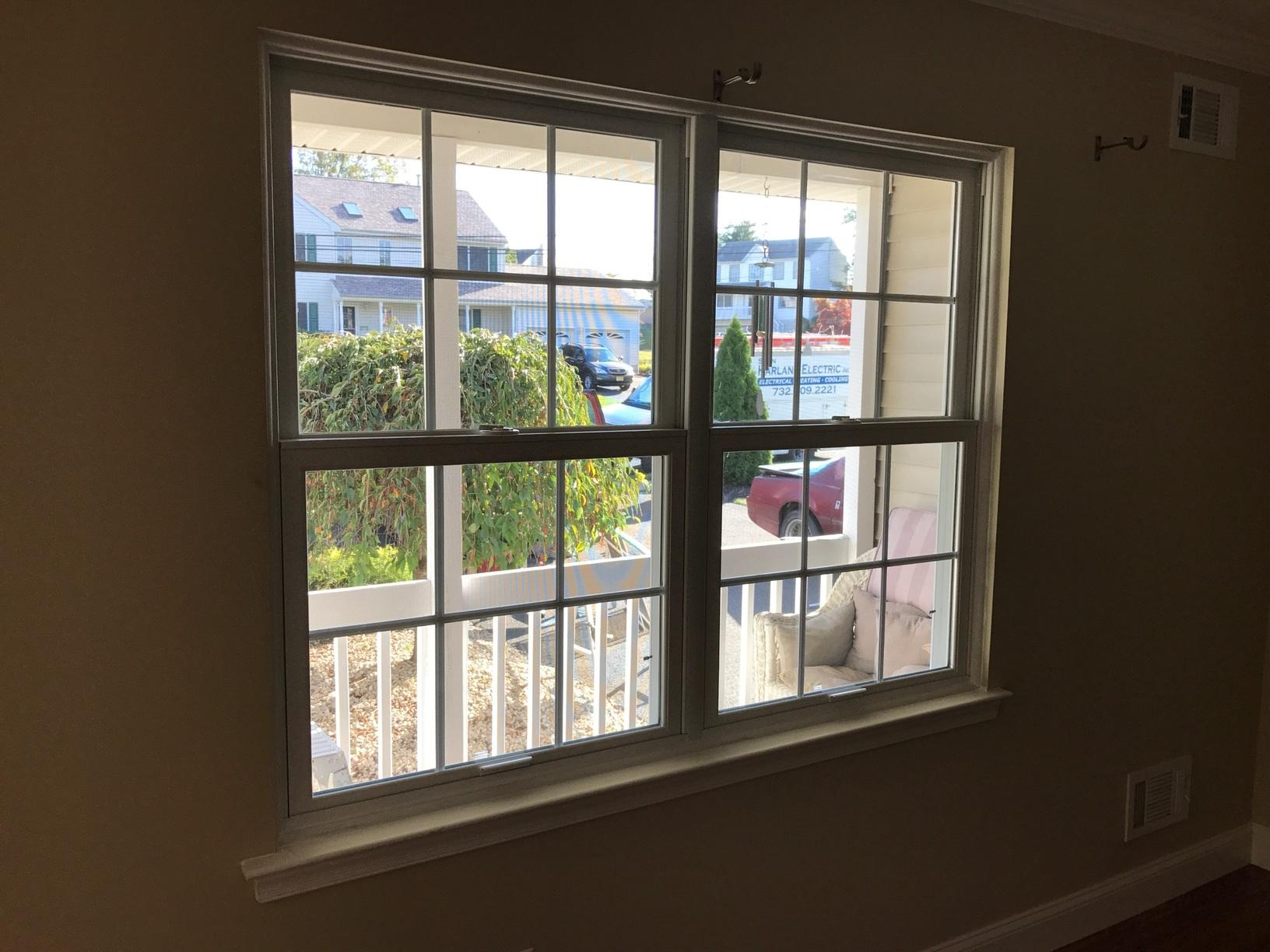 Marvin Infinity Double Hung Window Installation in Monroe Township, NJ