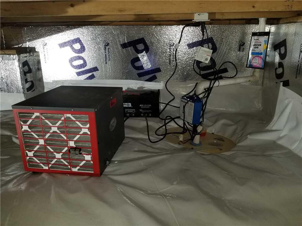 Complete Crawl Space Solution