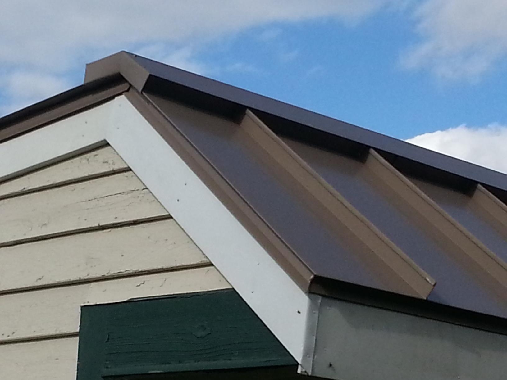 Buckskin G-Tech Standing Seam Metal Roof Installation in NJ