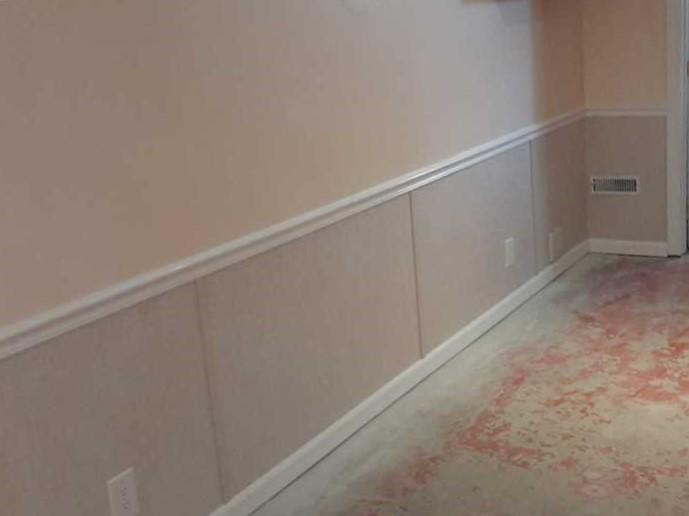 Basement wall restoration