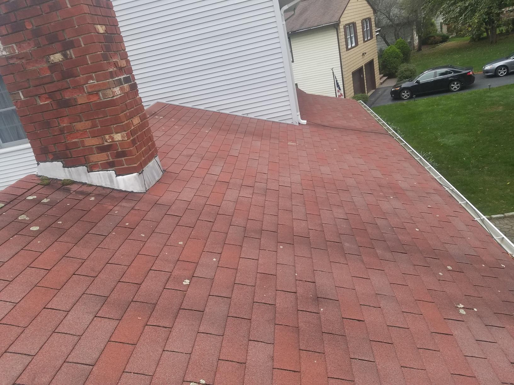 Before Photo of Shingle Roof Replacement in NJ