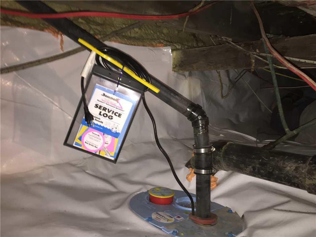 Le système de pompe de puisard SmartSump