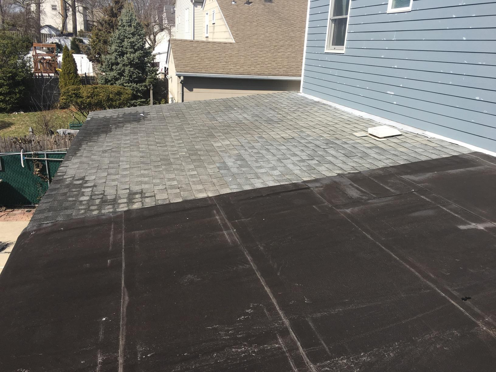 Old Asphalt Roof the Needs Replacement