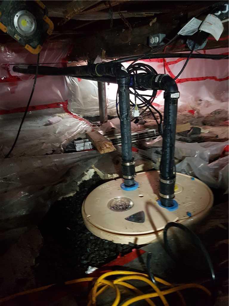 Installation du système de pompe de puisard TripleSafe