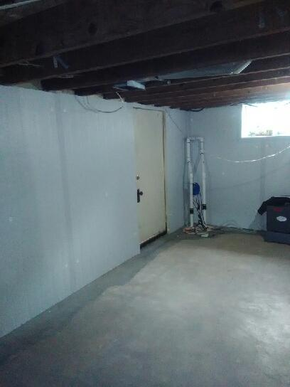 Block Basement Walls are Insulated
