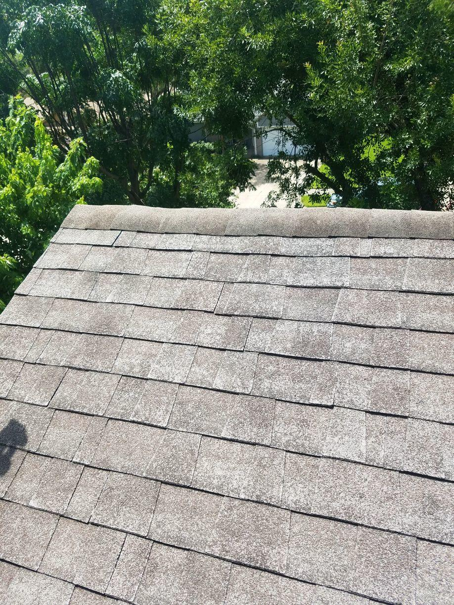 Roof Replacement From Severe Granule Loss To A Brand New