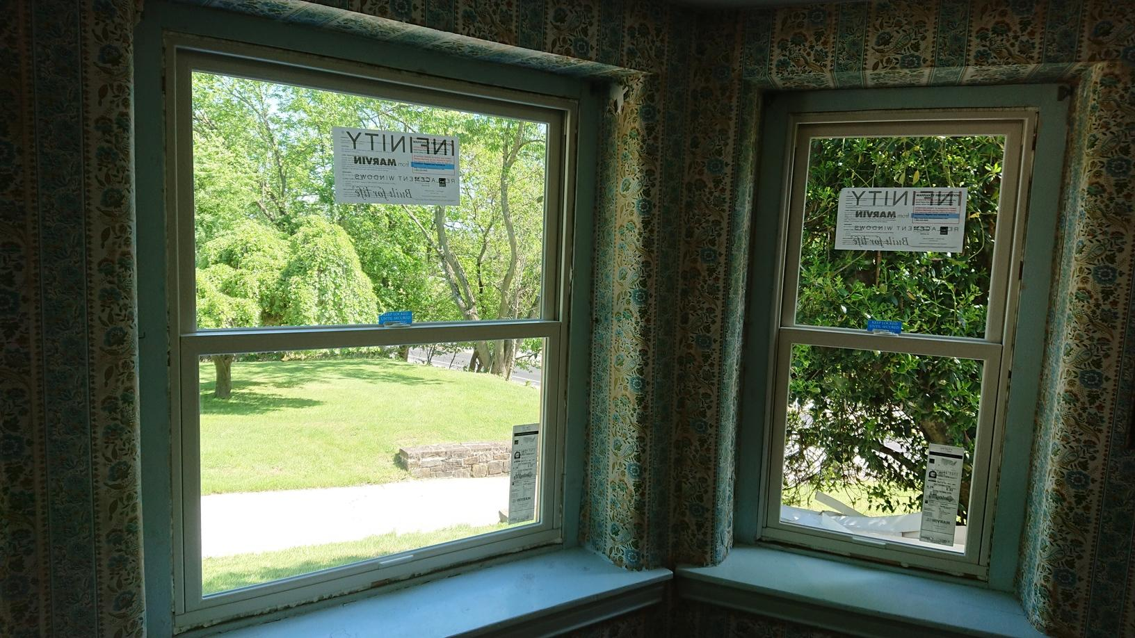 Marvin Infinity Window Installation on Historic Home in PA