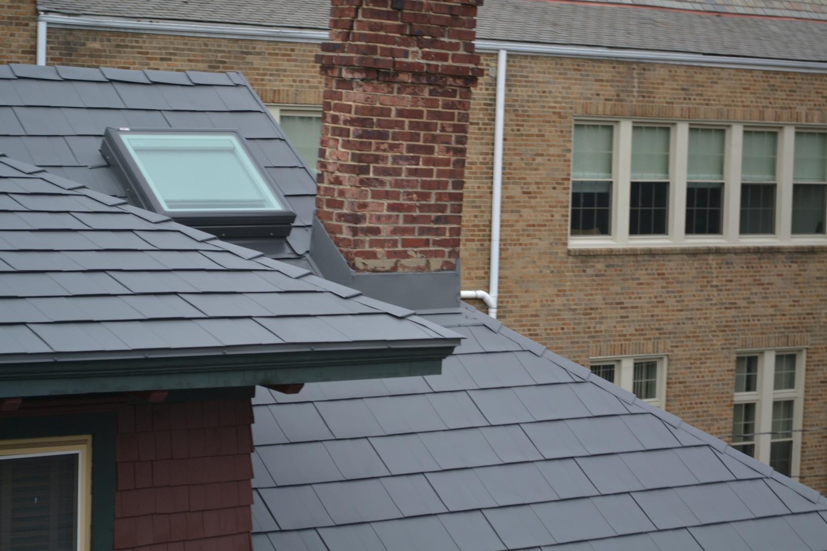 Steel Slate Metal Roof Installation in NJ