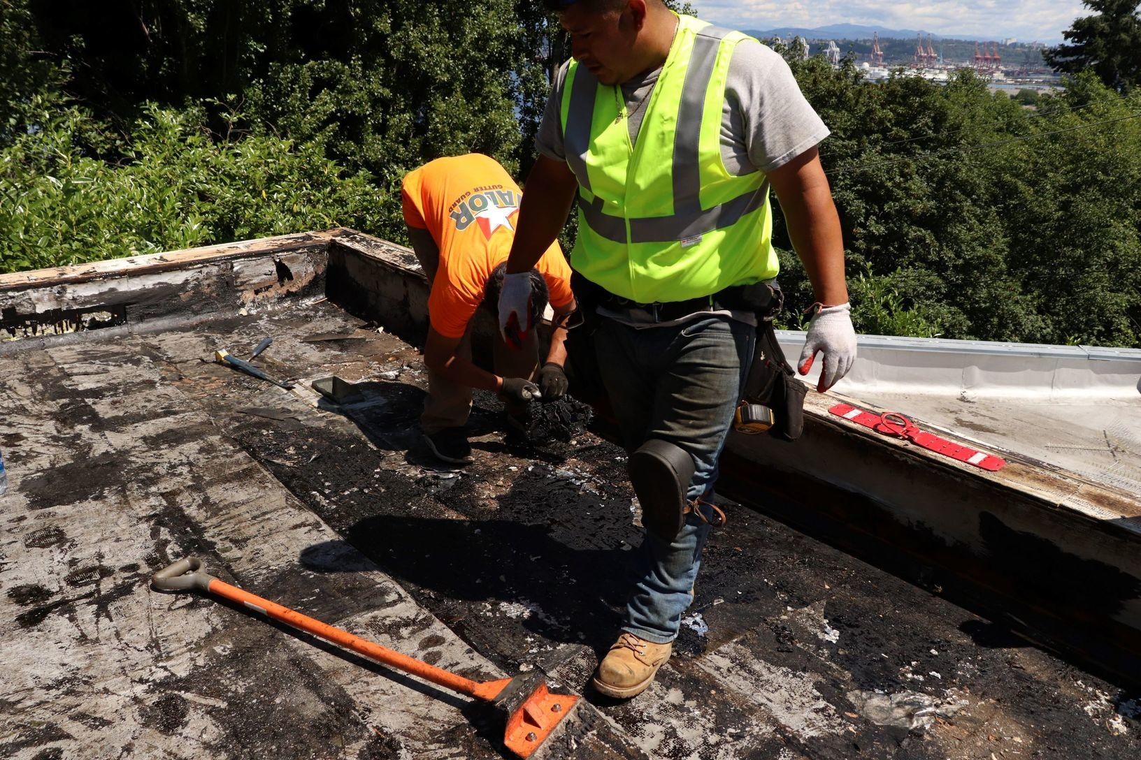 Types Of Roofing Flat Low Slope Roofing Flat Roof