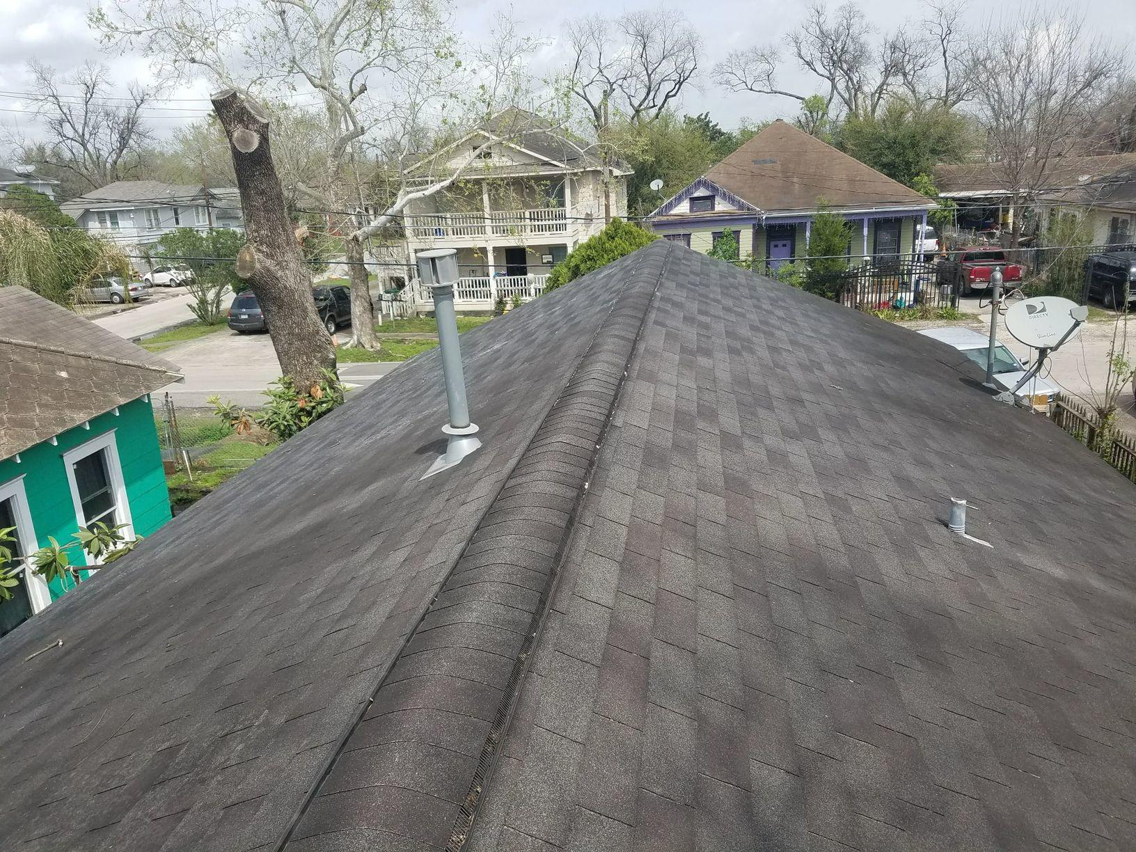 Roof Before Replacement