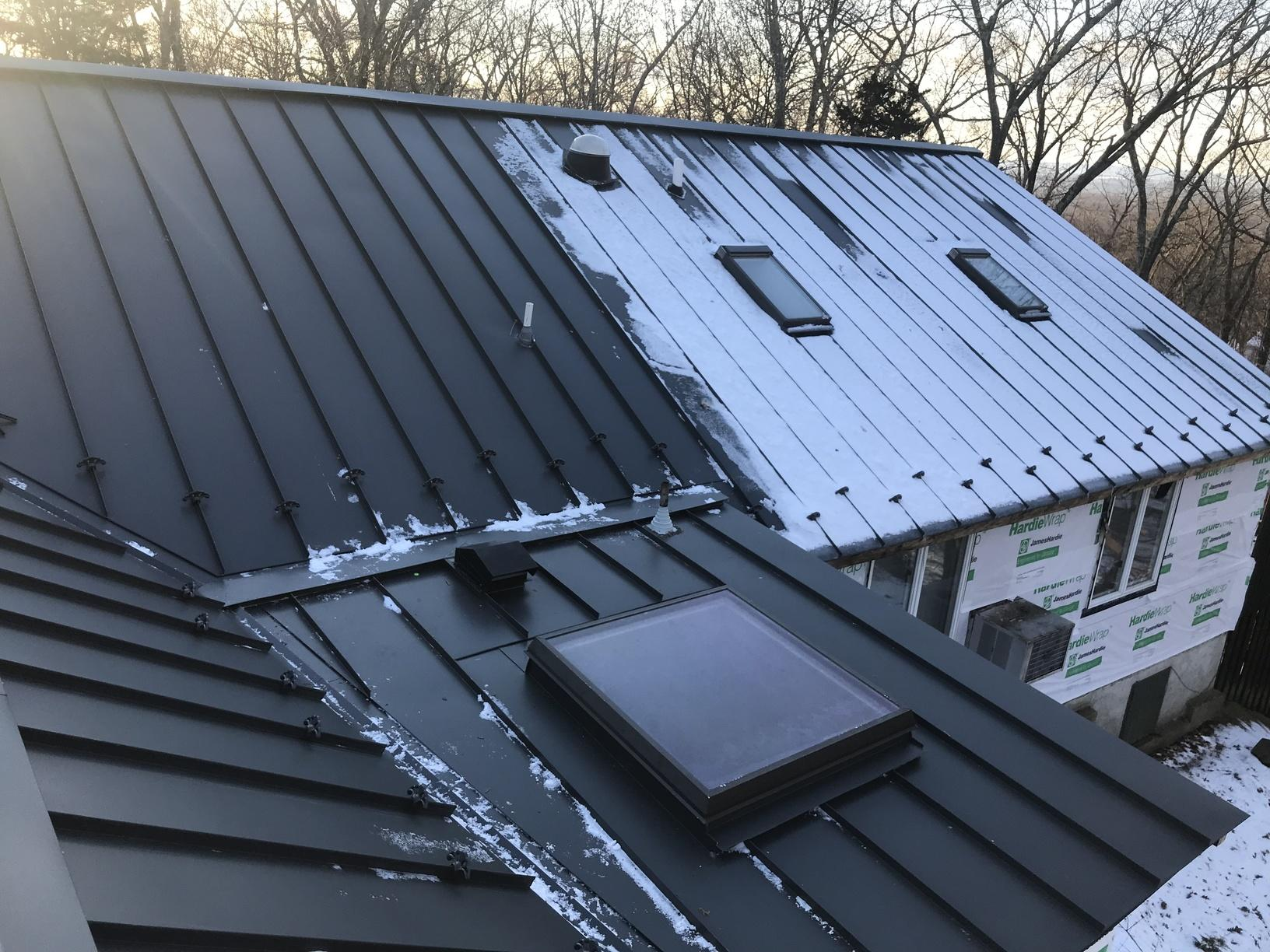 Drexel Standing Seam Metal Roof Installation in Sparta, NJ