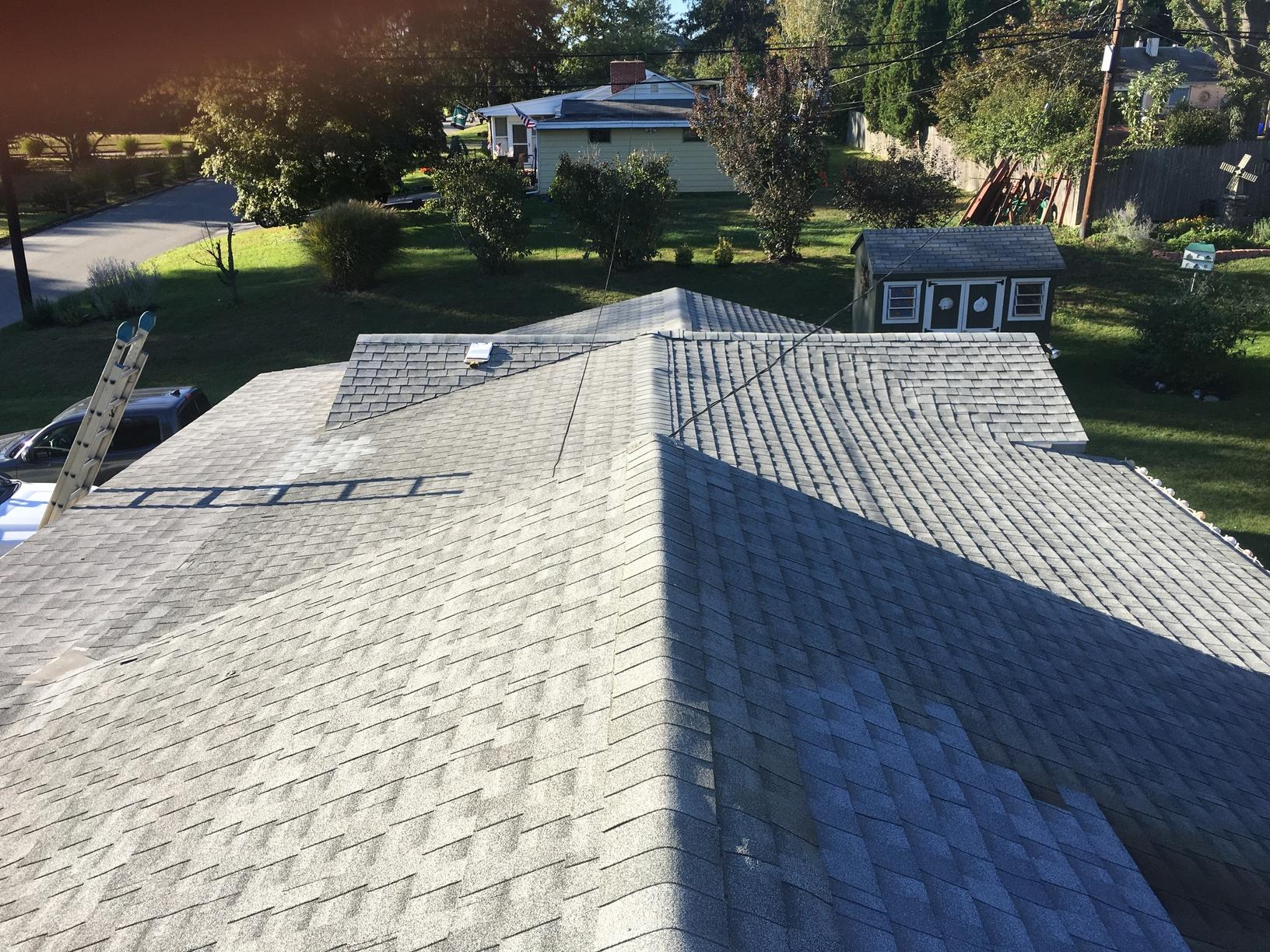 Replacing Leaking Asphalt Roof in Plymouth, PA