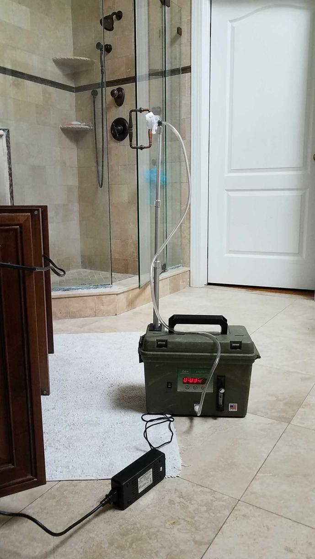 Mold test bathroom