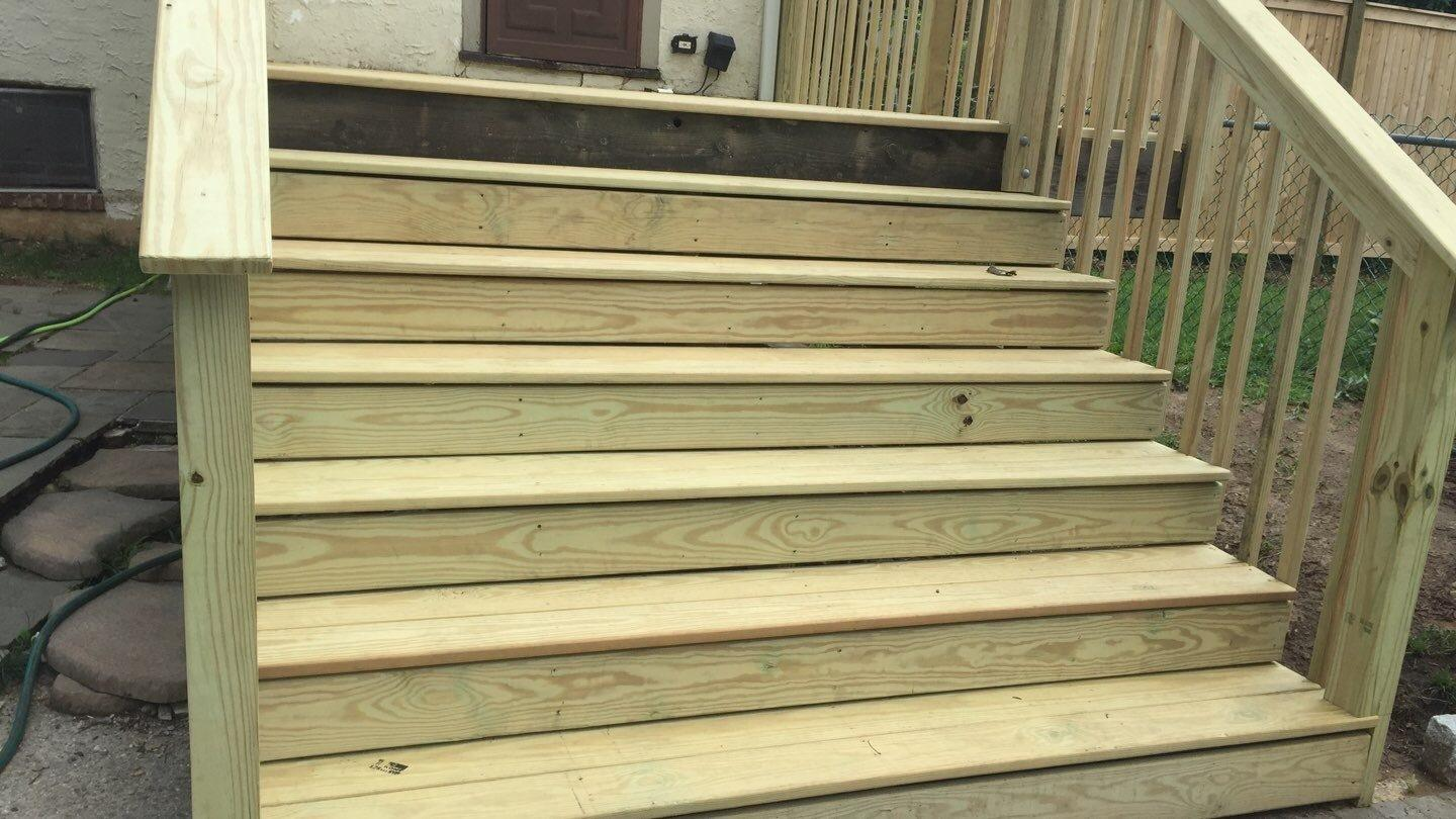 New Stairs Installed in Mt. Vernon, New York