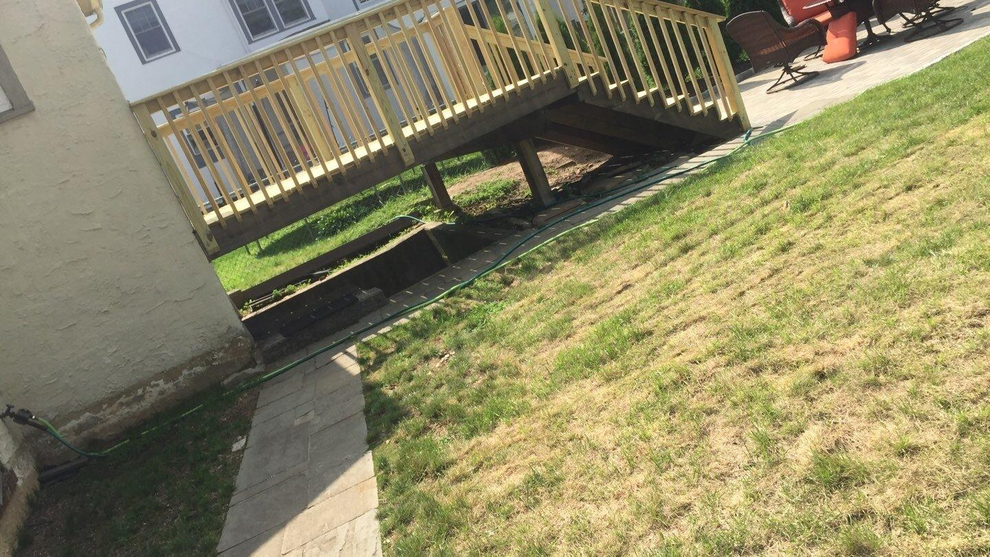 New Decking for a happy Mt. Vernon customer