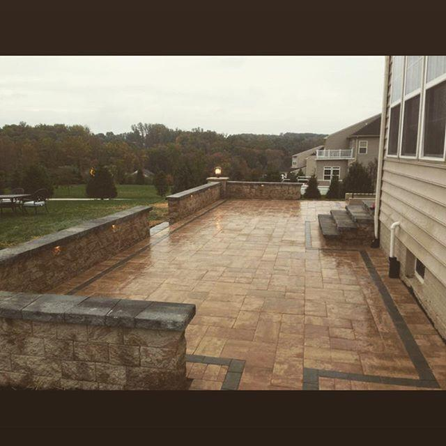 Wall and Patio Installation