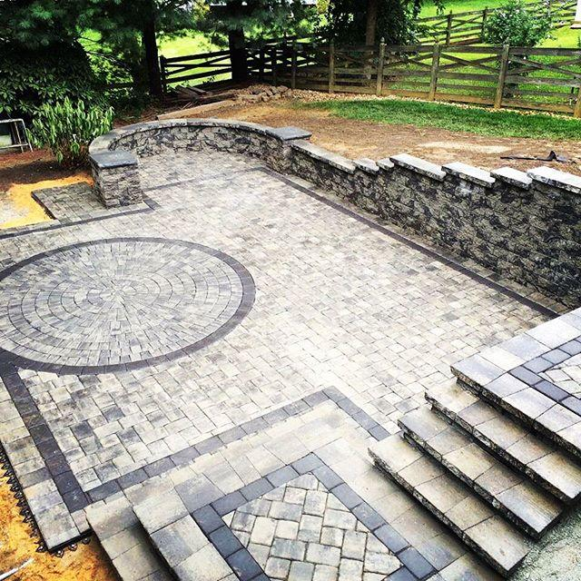 Patio, Wall, and Stair Installation
