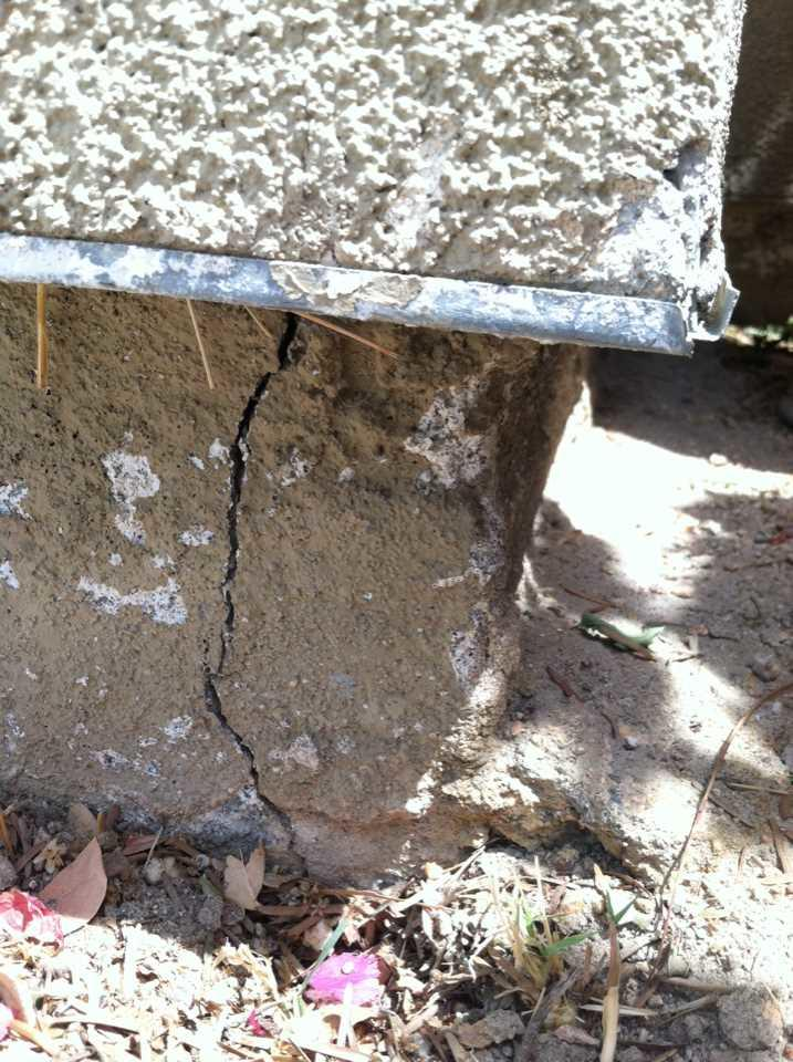 Cracked Walls in Salton City