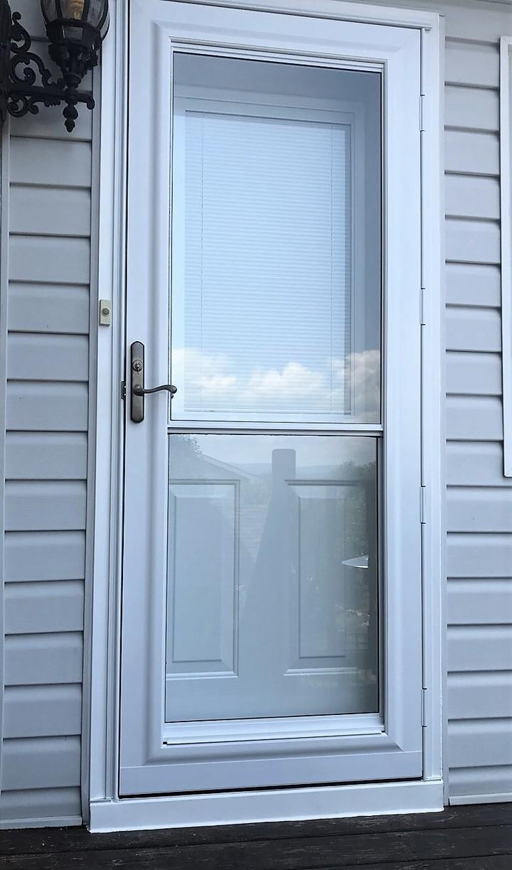 Exterior Storm Door (After)