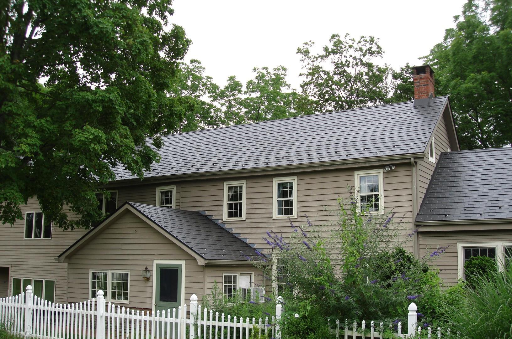 Steel Slate Metal Roof Installation in Frenchtown, NJ