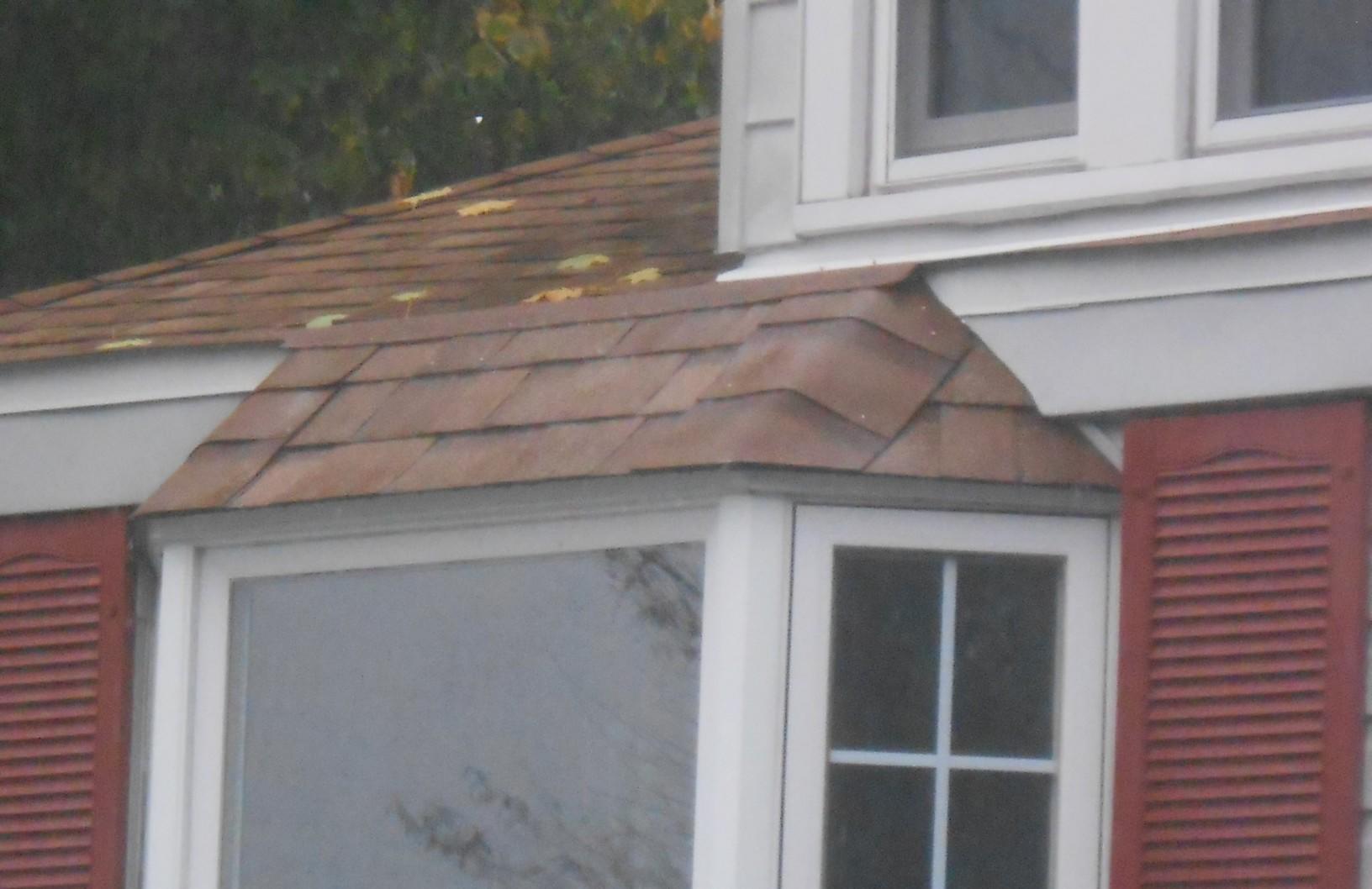 Asphalt Shingles Over Bay Window in PA